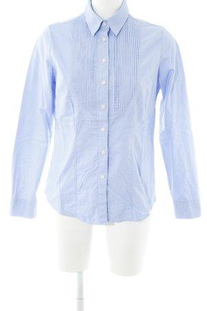 Charles Tyrwhitt Langarmhemd kornblumenblau schlichter Stil