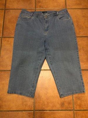 Charles Vögele 3/4 Length Trousers steel blue-cornflower blue