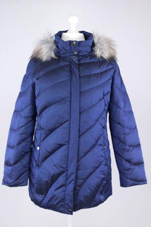 Charles Vögele Mantel blau Größe 44 1711490100497