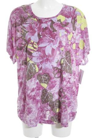 Charles Vögele T-Shirt florales Muster Casual-Look