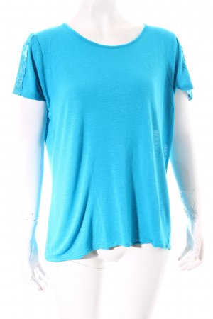 Charles Vögele T-Shirt türkis klassischer Stil