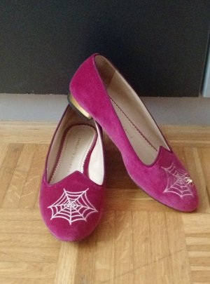 Charlotte Olympia Ballerinas pink-pink