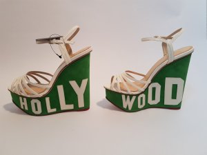 Charlotte Olympia Hollywood Wedges ungetragen 38,5