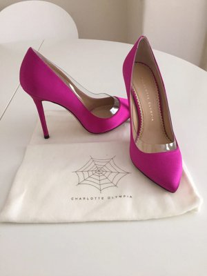Charlotte Olympia Pumps Pink Ganz Neu