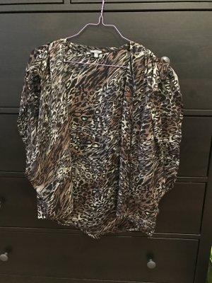 Charlotte Russe Jäckchen Chiffon mit Leoparden Muster 38
