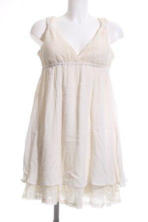 Charlotte Russe Lace Dress natural white elegant