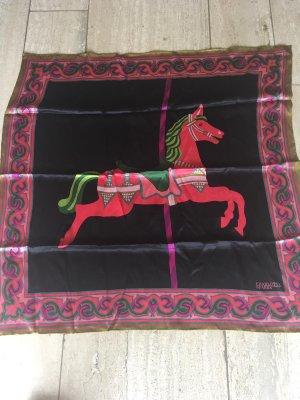Silk Cloth black-red silk