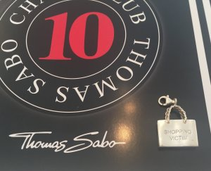 Charm Anhänger 'Shopping Bag' Thomas Sabo