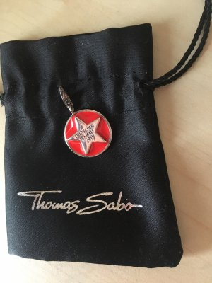 Thomas Sabo Charm silver-colored-dark red