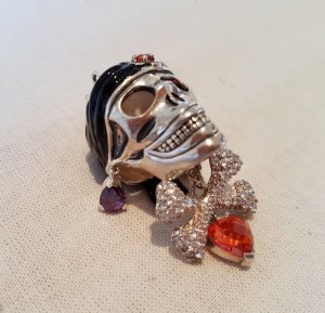 Thomas Sabo Charm black-silver-colored real silver