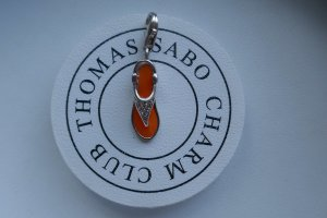 Thomas Sabo Charm silver-colored-orange