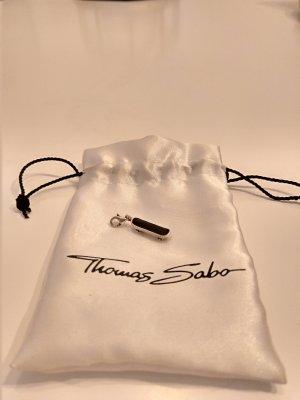 Thomas Sabo Ciondolo argento-nero Argento