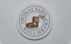 Thomas Sabo Ciondolo marrone-argento