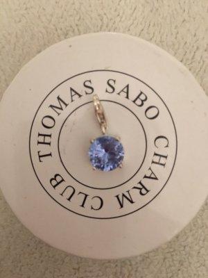 Thomas Sabo Breloque bleu fluo