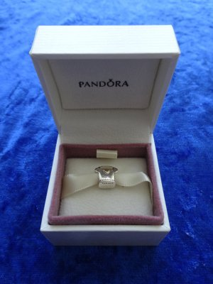 Pandora Charm silver-colored-gold-colored