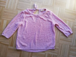 Charmanter Tom Taylor Denim Strickpullover pink Gr 38