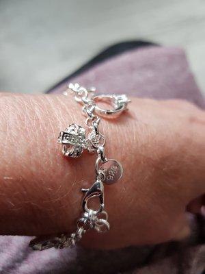 Charme-Armband mit 925Silber plattiert