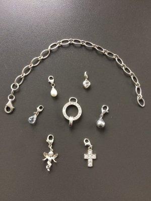 Charms, Charmsverteiler und Silberarmband