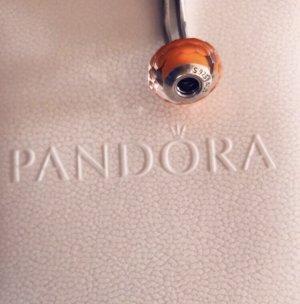 Pandora Dije color plata-naranja neón plata verdadero