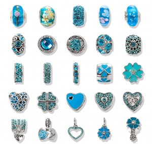 Charm light blue-turquoise