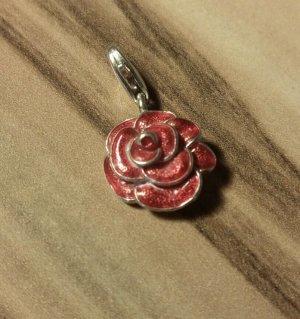 "Charms""Rose"" in 925 -er Silber"