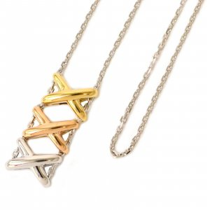 Necklace yellow real gold