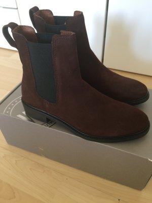 Chealse Boots echtes Leder ungetragen