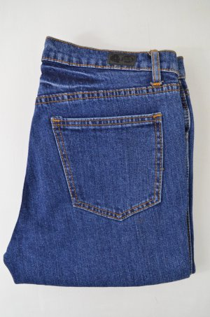 CHEAP MONDAY Damen Jeans Mod. Ankle Stretch Monday Blue Denim Blau Kurz Gr. 28