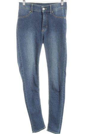 Cheap Monday High Waist Jeans neonblau Casual-Look