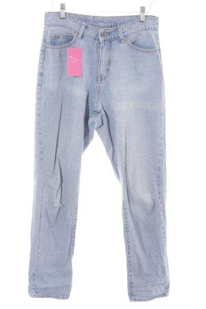 Cheap Monday High Waist Jeans blassblau Casual-Look