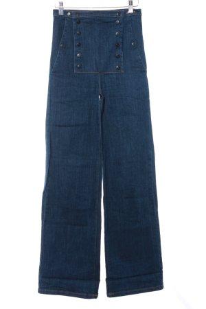 Cheap Monday High Waist Jeans dunkelblau Segel-Look