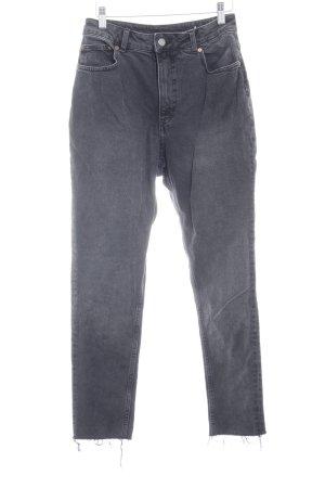 Cheap Monday High Waist Jeans taupe Boyfriend-Look