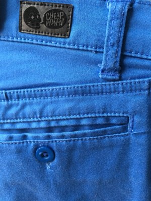 CHEAP MONDAY Hose Ankle chino blue high-waist blau Gr. 28