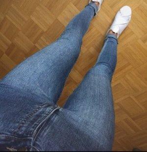 Cheap Monday High Waist Trousers blue-cornflower blue