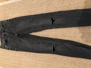 Cheap Monday Jeans High Weist 26 Anthrazit schwarz grau