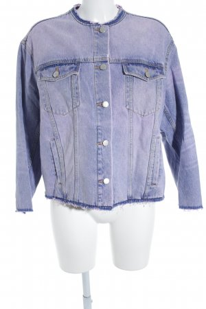 Cheap Monday Jeansjacke blau-pink Casual-Look