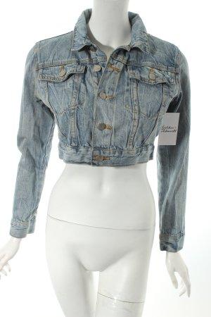 Cheap Monday Jeansjacke hellblau Street-Fashion-Look