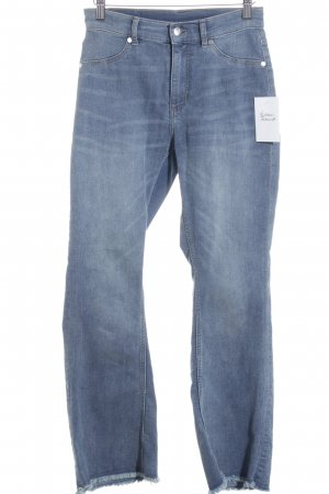 "Cheap Monday Jeansschlaghose ""Kick Spray Blue Noise"" kornblumenblau"