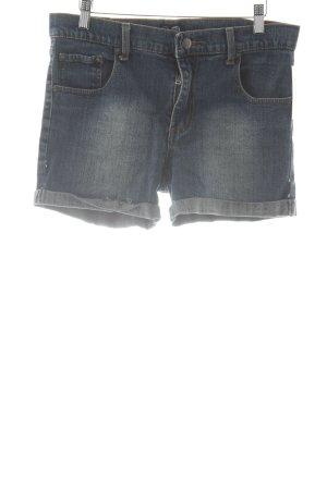 Cheap Monday Jeansshorts stahlblau schlichter Stil