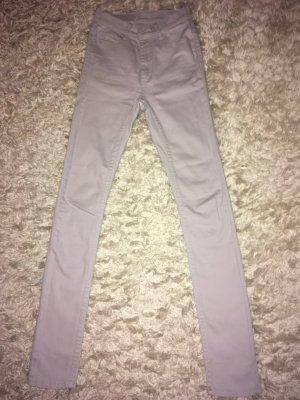 Cheap Monday Pantalon taille haute violet