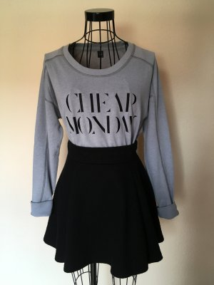 Cheap Monday Logo Pullover/Sweater grau
