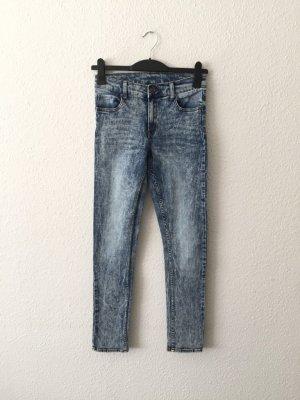 Cheap Monday melierte verwaschene Hihg-waist Jeans 27/32