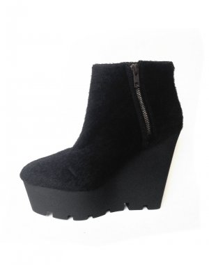 CHEAP MONDAY MONOLIT WEDGE BOOTS