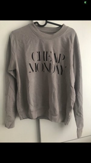 Cheap Monday Sweat Shirt black-grey