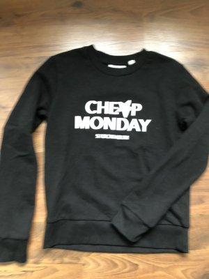 Cheap Monday Pullover schwarz