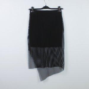 Cheap Monday Jupe asymétrique noir polyester