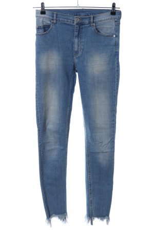 Cheap Monday Jeans a sigaretta blu stile casual