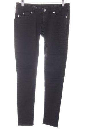 Cheap Monday Röhrenjeans schwarz minimalistischer Stil