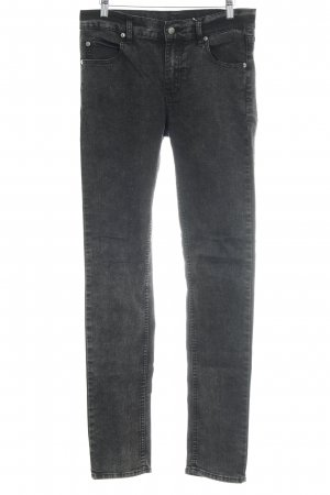 Cheap Monday Skinny Jeans anthrazit meliert Casual-Look