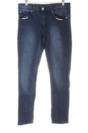 Cheap Monday Skinny Jeans dunkelblau-stahlblau Casual-Look